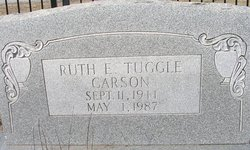 Ruth <i>Tuggle</i> Carson