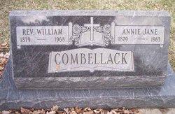 Annie Jane <i>Dunstan</i> Combellack
