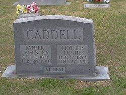 Lottie <i>Doss</i> Caddell