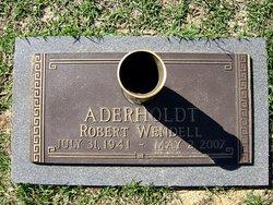 Dr Robert Wendell Bob Aderholdt