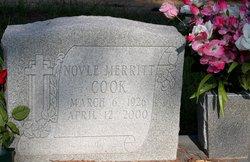 Novle <i>Merritt</i> Cook