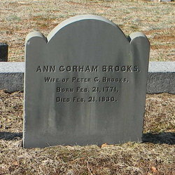 Ann <i>Gorham</i> Brooks