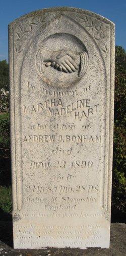 Martha Madeline <i>Hart</i> Bonham