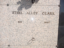 Ethel <i>Alley</i> Clark