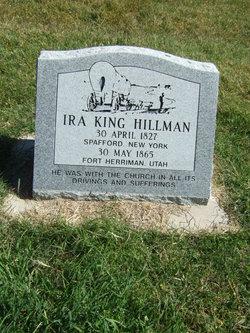 Ira King Hillman