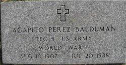 Agapito Perez Balduman