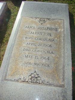 Alice Josephine Albritton