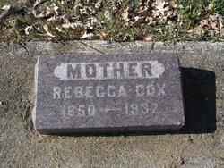 Rebecca <i>Mills</i> Cox