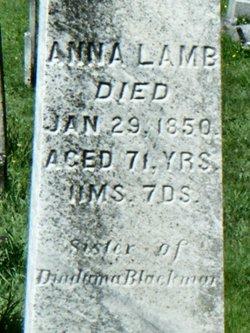Anna <i>Blackmar</i> Lamb