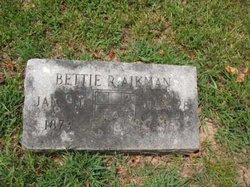 Bettie R Aikman