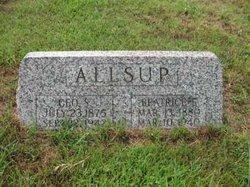 Beatrice E Allsup