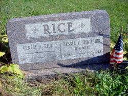 Bessie E <i>Thatcher</i> Rice