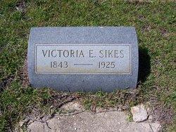 Victoria Elizabeth <i>Fletcher</i> Sikes