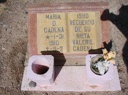 Maria D Cadena