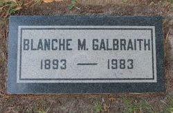 Blanche Malinda <i>Goins</i> Galbraith