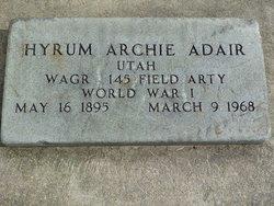 Hyrum Archie Adair