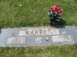 Irma Irene <i>Cartwright</i> Warren