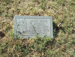 Alice Irene <i>Medders</i> Anders