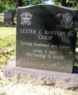 Lester Edward Chop Barton, Sr