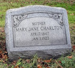 Mary Jane <i>Kirtley</i> Charlton