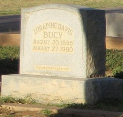 Harriet Lorainne <i>Davis</i> Bucy