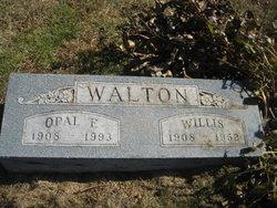 Willis Burt Bud Walton