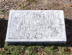 John Albertus Blackwell