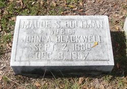 Maude Bultman <i>Stukes</i> Blackwell