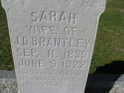 Sarah <i>Hargreaves</i> Brantley