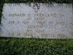 Donald Earl Akerland, Sr