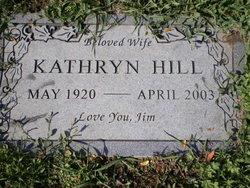 Kathryn D. <i>Wright</i> Hill
