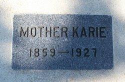 Karie Knutsdatter <i>Braaten</i> Aamot