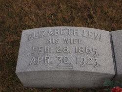 Elizabeth <i>Levi</i> Pixlee