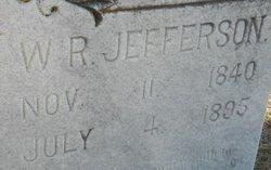 W R Jefferson