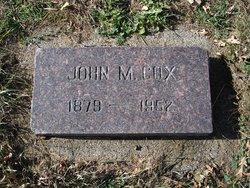 John Mills Cox