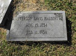 Jefferson Davis Halbert