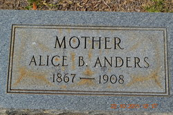 Alice Bell <i>Brantley</i> Anders