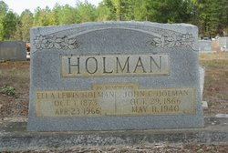 Ella <i>Lewis</i> Holman