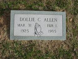 Dollie Cordelia <i>Honeycutt</i> Allen