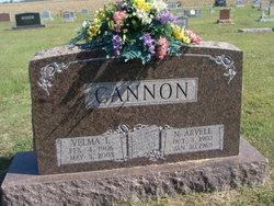 Velma Lee <i>Snider</i> Cannon