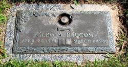 Cleo <i>Allen</i> Baucom