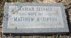 Mariah <i>Selvage</i> Tipton