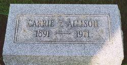 Carrie E. Allison