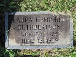 Laura Della <i>Hemphill</i> Cuthbertson