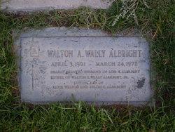 Walton Algernon Wally Albright, Sr