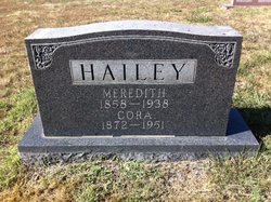Meredith E Hailey