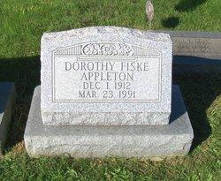 Dorothy <i>Fiske</i> Appleton