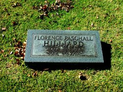Florence Patton <i>Paschall</i> Hilliard