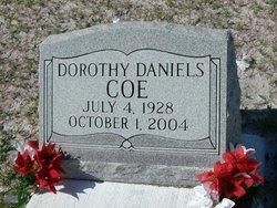 Dorothy <i>Daniels</i> Coe