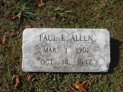 Paul E. Allen